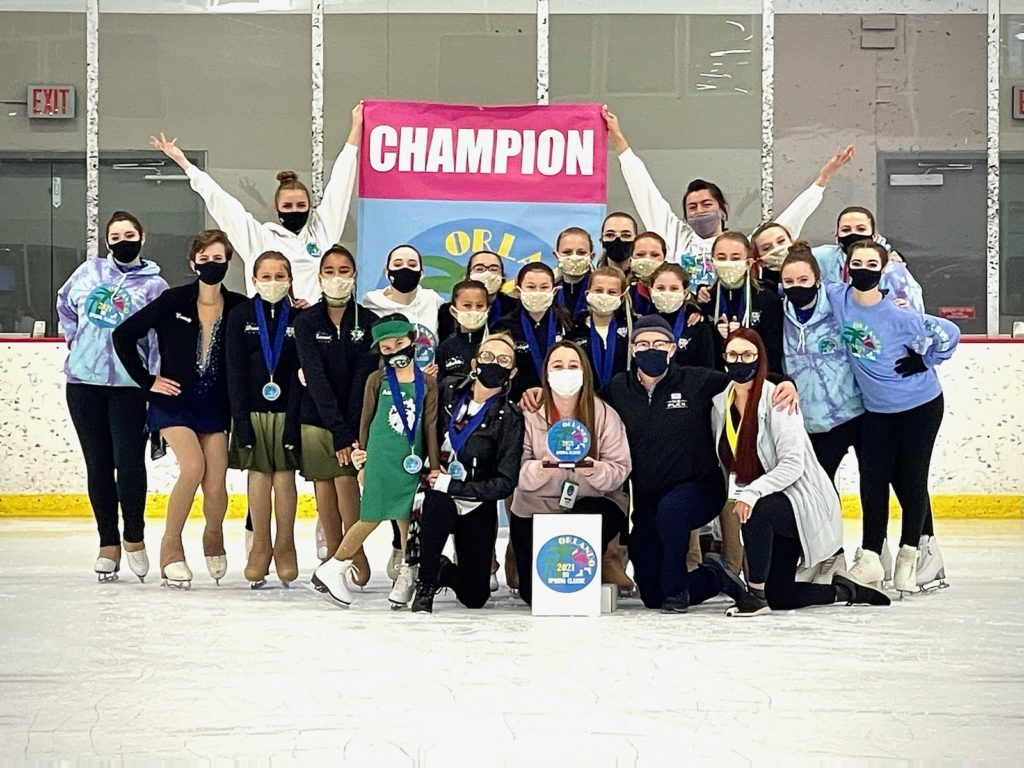 Recreational Ice Skaters flocked to Florida for ice skating competition