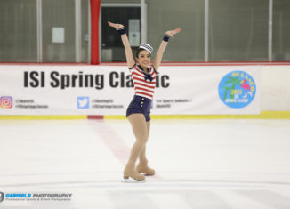 Recreational skaters flocked to RDV Sportsplex to participate in the 2021 ISI Spring Classic Ice Skating Competition.